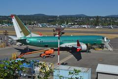 LN-BKA (LAXSPOTTER97) Tags: lnbka norwegian boeing 737 7378 max cn 42832 ln 7040 oscar wilde aviation airport airplane krnt