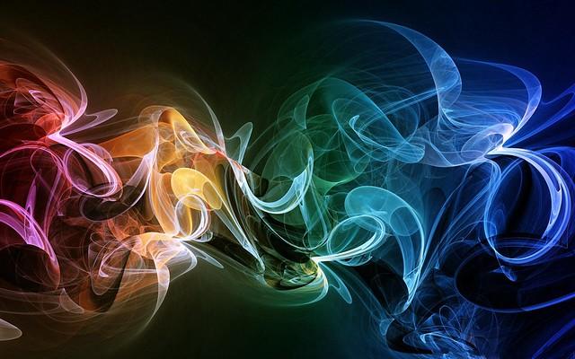 Обои дым, разноцветный, яркий, красочный, фон картинки на рабочий стол, фото скачать бесплатно