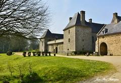 Chateau de Kergroadez à Brélès - Bretagne / Finistère (jean-paul Falempin) Tags: architecture château monument bretagne finistère artsvisuels