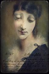 Vintage Portrait Card (jimlaskowicz) Tags: artistic impressionistic textures victorian vintage painterly art cabinetcard portrait