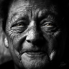 Dramatic BW Beauty (Randy • R) Tags: adult age aged aging attractive beautiful beauty caucasian elderly elegant face female gorgeous grandma grandmother granny happiness happy human lady lifestyle looking makeup mature old older pensioner people person portrait retired retirement senior smile woman women wrinkled