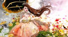 ♥♥♥ (ღ ღ[[J E SSIE ]] ღ ღ) Tags: secondlife cute kawaii sl maitreya prtty tableauvivant genus babyface girl secondlifephoto photography genusproject flower