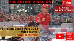 Formula 1 Italian Grand Prix 2018 + Milan Festival (Marco Moscariello) Tags: formula1 monza ferrari vettel accident hamilton darsena navigli milano milanfestival italiangp grandprix italia f1 mercedes alfaromeo tororosso video granpremioditalia