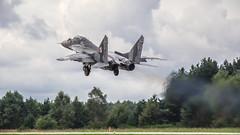 MIG-29A (kamil_olszowy) Tags: mig29a fulcrum fighter 912a 77 polish air force 41elt 41st sqadron epmi mirosławiec poland миг29а ввс польши siły powietrzne rp