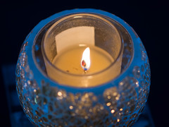 The Candle of Life (RS400) Tags: candle life light lights blue macro close up photography uk cool wow amazing inside different christmas xmas 2018 december home design
