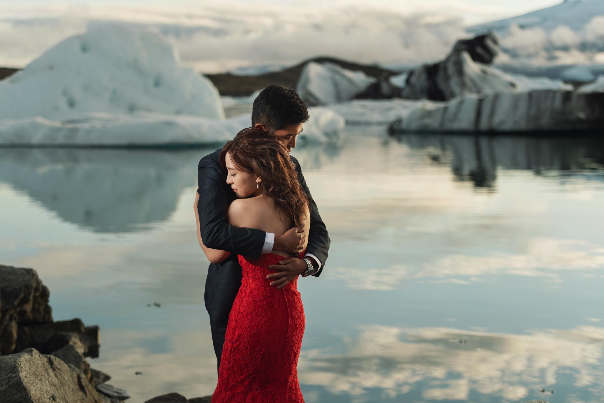 Donfer, EASTERN WEDDING, Iceland, Pre-Wedding, 海外婚紗, 冰島婚紗, 冰河湖, 教堂山, 羽毛和峽谷, 黑沙灘