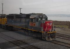UP 1004 (imartin92) Tags: martinez california unionpacific railroad railway freight train emd gp60 gp402 cottonbelt ssw southernpacific locomotive