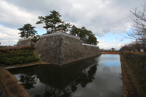 Shimabara Yagura and Moat