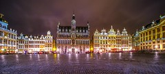 Grand Place Brussels - 6386 (ΨᗩSᗰIᘉᗴ HᗴᘉS +38 000 000 thx) Tags: night brussels grandplace belgium europa aaa namuroise look photo friends be wow yasminehens interest eu fr greatphotographers lanamuroise flickering laowa laowa15mm fuji fujifilmgfx50s fujifilm