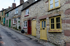 Street up to the Hill (wounderful0) Tags: street town derbyshire village house building cityscape hill brick window door houses wall buildings uk england outdoor travel outdoors empty up rise road wirksworth view tourism europe