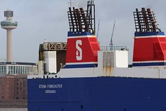 Stena Forecaster (Das Boot 160) Tags: stenaforecaster stena roro ferries ferry ships sea ship river rivermersey port docks docking dock boat boats birkenhead twelvequays maritime mersey merseyshipping