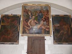 Saubrigues, Landes: église Saint-Pierre, XII° (Marie-Hélène Cingal) Tags: france sudouest 40 landes aquitaine nouvelleaquitaine macs saubrigues