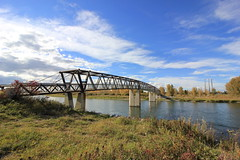 Bridge Over The Bow (pamfromcalgary) Tags: structure architecture bowriver