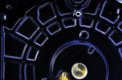 What is That? (nagyistvan8) Tags: nagyistván túrkeve magyarország magyar hungary nagyistvan8 special extreme whatisthat macromondays macro hmm színek colors fekete fehér kék sárga merevlemez harddrivecover burkolat cover számítástechnika adattároló computingdatastorage storage tárgy object pc fém steel műanyag plastic alak alakzat forma form formation 2019 nikon