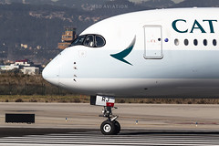Airbus A350-941 B-LRJ Cathay Pacific (msd_aviation) Tags: airbus airbusa350 a350 airbus350 a350xwb a350900 cathay cathaypacific bcn lebl barcelona elprat airport aviation aviation4u aviationpics aviationfans aviationlovers aviationphotos spotting spotters planespotting planespotters airplanes aircraft