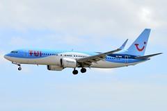 SE-RNB | TUIfly Nordic | B737 MAX 8 | ACE/GCRR (haraldsson_m) Tags: tui tuifly nordic lanzarote airport planespotting boeing b737 737 max landing ace gcrr sernb