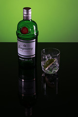 More gin...why not! (MikeOB64) Tags: gin tanqueray export bottle drink alcohol london dry green lime
