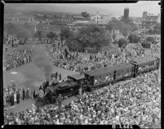 Palmerston North Jubilee train (Archives New Zealand) Tags: archivesnewzealand archives archivesnz palmerstonnorth trains jubilee