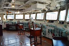 HMS Belfast - captain's bridge (cmw_1965) Tags: hms belfast bridge controls guages dials warship town class light cruiser captain chair london thames imperial war museum floating exhibit ww2 c35