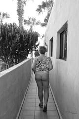 Marzka (piotr_szymanek) Tags: marzka woman milf outdoor blackandwhite hotel butt back legs 1k 20f 5k nobra 50f 10k