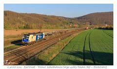 Br 193 980 WLC - Karlstadt (CC72080) Tags: br193 wlc wiener lokalbahnen cargo bahn zug locomotive lokomotive locomotiva train güterzug autozug treno merci karlstadt
