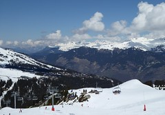 Chairlft and Alpine Scenery (chdphd) Tags: courchevel