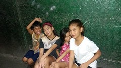 outside with friends (ghostgirl_Annver) Tags: asia asian annver girl boy teen child kid family friends group outside night neighbours