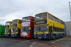 Dublin Bus AV169 00-D-70169 - AV171 00-D-70171 - Driver Trainer AV85 00-D-40085 - AV162 00-D-70162 (Will Swain) Tags: dublin broadstone depot 16th june 2018 bus buses transport travel uk britain vehicle vehicles county country ireland irish city centre south southern capital av162 00d70162 av 162 av169 00d70169 av171 00d70171 driver trainer av85 00d40085 171 169 85