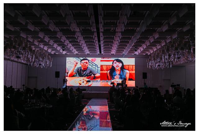 [高雄婚攝] 哲諭 & 郁倫 宴客側拍 @林皇宮