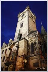 Czech Republic - Prague - Orloj (ottilia dozsa) Tags: czechrepublic csehorszag prague praga orloj tower torony night ejszakai ycabb epulet building architecture epiteszet kozepkori medieval unesco