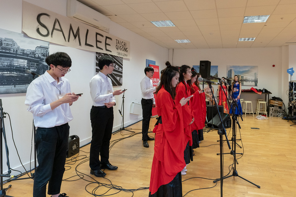 YEAR OF THE PIG - LUNAR NEW YEAR CELEBRATION AT THE CHQ IN DUBLIN [OFTEN REFERRED TO AS CHINESE NEW YEAR]-148957