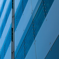 Abstract Square 48 (Récard) Tags: abstract architecture architektur square facade blue