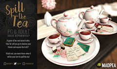 Spill The Tea Duo MadPea @ BELLE EVENT! (MadPea Productions) Tags: madpea productions game games social interactive event events fun decor