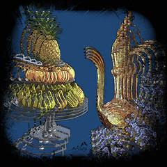 Side by side (SØS: Thank you for all faves + visits) Tags: can color colorful digitalart digitalartwork art kunstnerisk manipulation solveigøsterøschrøder artistic flowers fruit photomanipulation 100views 300views many thanks
