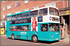 Arriva Fox Country 4176 (Jason 87030) Tags: scania turquoise arriva midlands fox country midland liectester charlesst street shops scan 2001 doubledecker wheels body transport transportation color colour 4176 merge uk england