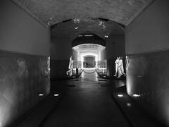 Ghosts wear white (muntsa-joan-BW) Tags: blackandwhite bw bnw barcelona tunnel subway street streetphoto streetphotography shadows sombras tunel subterraneo monochrome monocromo dark