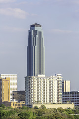 Williams Tower - Houston Galleria Area Skyline 1 (Mabry Campbell) Tags: 2019 galleriadistrict harriscounty hines houston mabrycampbell march philipjohnson texas transco usa williamstower architecture buildings galleriaarea image photo photograph skyline