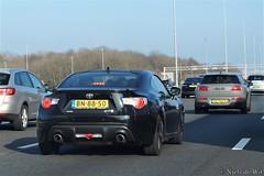 Toyota GT86 (NielsdeWit) Tags: nielsdewit car vehicle bn8850 toyota gt86 86 gt driving a12 highway snelweg pv704n tt321h
