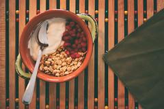 Refreshing Start (flashfix) Tags: january012019 2019inphotos flashfix flashfixphotography ottawa ontario canada nikond7100 40mm foodphotography breakfast healthy yogurt yoghurt granola fruit napkin pomegranate pomegranateseeds bowl spoon
