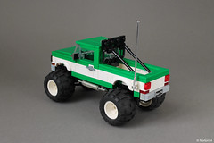 Big Foot Monster Truck (Andrea Lattanzio) Tags: pickup truck ford big foot monster norton74