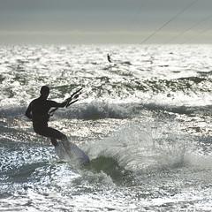 (Rob Millenaar) Tags: southafrica bloubergstrand dolphinbeach kitesurfing light