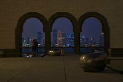 Qatar Window (ivoräber) Tags: qatar museum mia doha tower