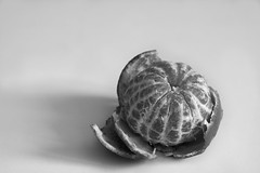 Black&White mandarin (roman.romanenkov) Tags: fruit fruits mandarin