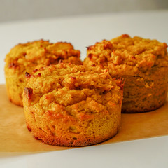 2019.02.08 Low Carbohydrate, Healthy Fat Pumpkin Muffins with Cream Cheese Filling, Washington, DC USA 09762