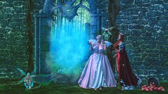 Entering the Garden (Angel Neske) Tags: angel queen goddess mythology fantasy fairy fairies apple sl portrait magic