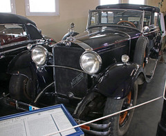 Nürburg (Schwanzus_Longus) Tags: automuseum museum melle german germany old classic vintage car vehicle cabrio cabriolet convertible mercedes benz nürburg 460 gläser f