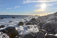 #rockybeach #waves #winterlight #hove (larscko) Tags: waves rockybeach hove winterlight