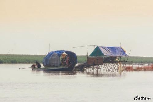Fishing Village, Phnom Penh, Cambodia