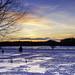 Prescott, MI Winter Sunset