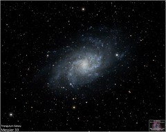 The Triangulum Galaxy - Messier 33 (The Dark Side Observatory) Tags: tomwildoner night sky deepsky space outerspace skywatcher telescope 120ed celestron cgemdx asi190mc zwo astronomy astronomer science canon canon6d deepspace guided weatherly pennsylvania observatory darksideobservatory stars star tdsobservatory backyardeos earthskyscience m33 messier spiral tria triangulumgalaxy